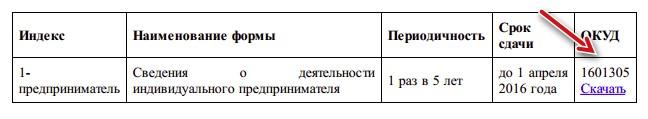 Форма для скачивания файла