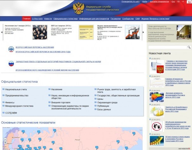 Заработная плата на сайте официальном сайте Росстата